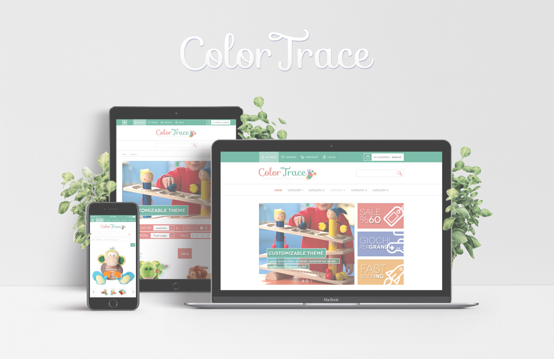 ColorTrace Magento Template